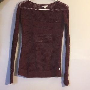 American eagle striped knit sweater